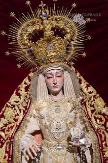 Resultado de imagen de Virgen de la Amargura de Granada