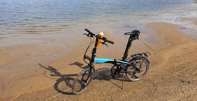Ein Faltrad auf Reisen