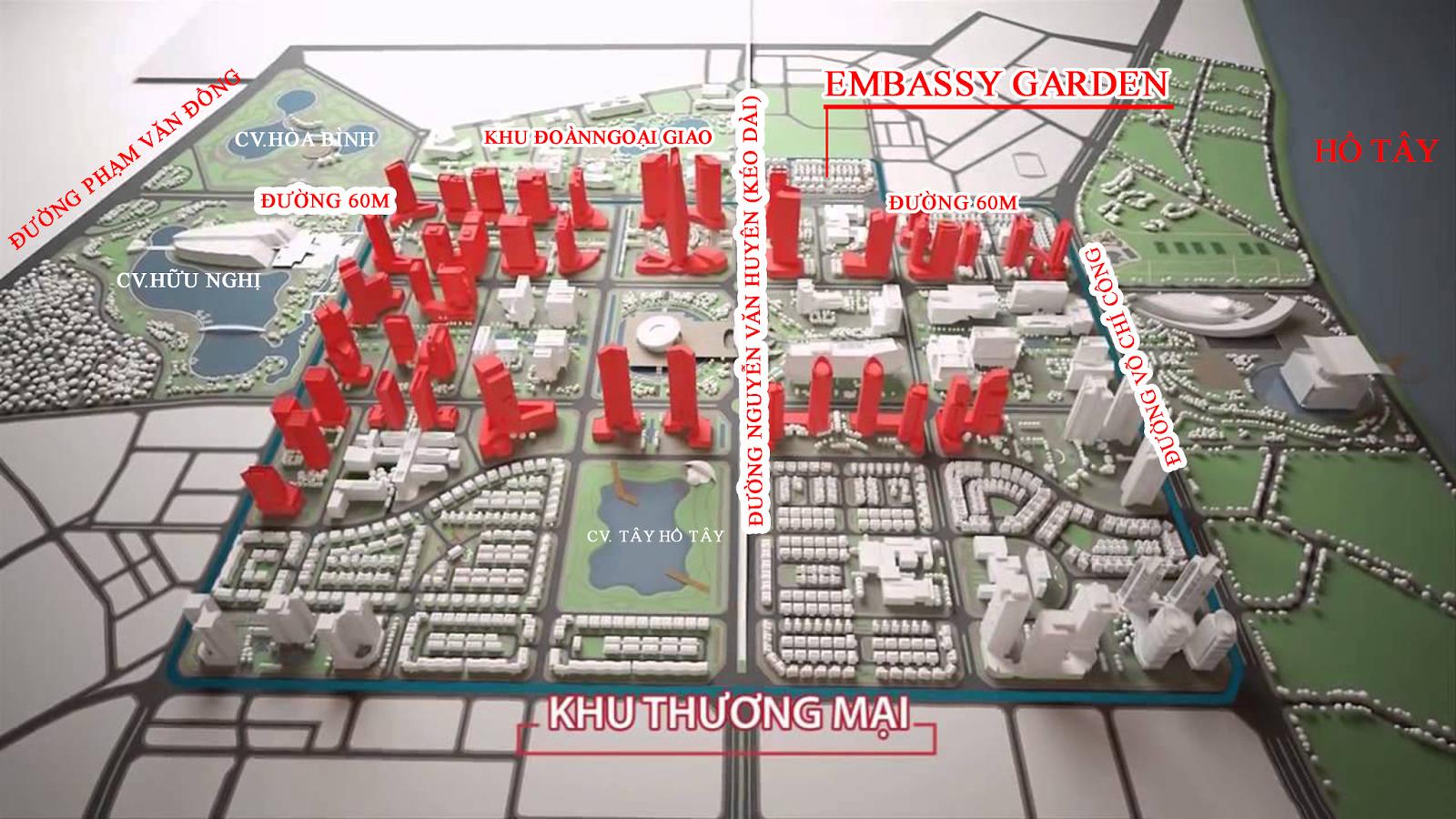 Dự án khu đô thị mới Tây Hồ Tây - Starlake Hà Nội