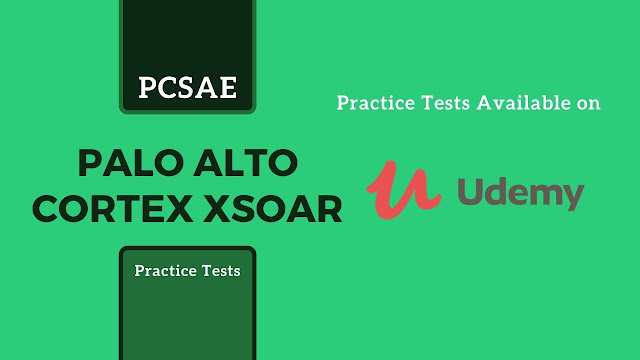 Cortex XSOAR exam questions