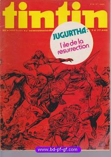 Tintin numéro 32, 1976, Jugurtha