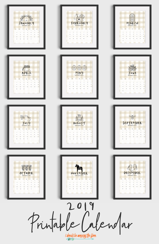 Neutral Calendar