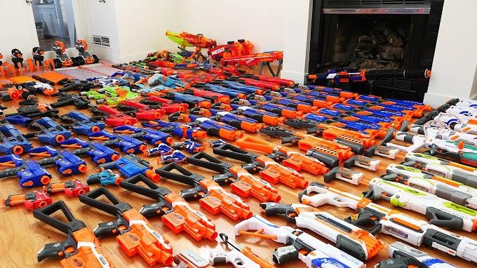 Các loại súng Nerf cho bạn lựa chọn.