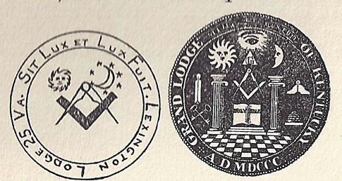 Freemasonry in Kentucky and Lexington Lodge #1