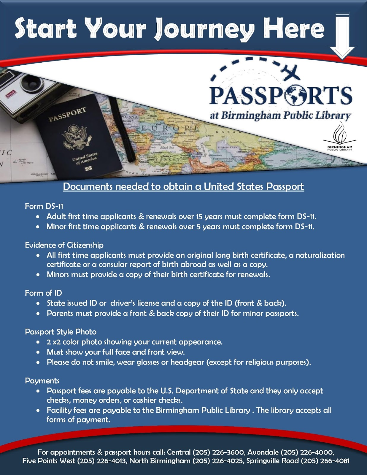 Birmingham Public Library: Traveling Overseas This Fall