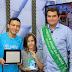 Em Picuí PB, Olivânio Remígio (PT), recebe premiação de prefeito amigo da criança.