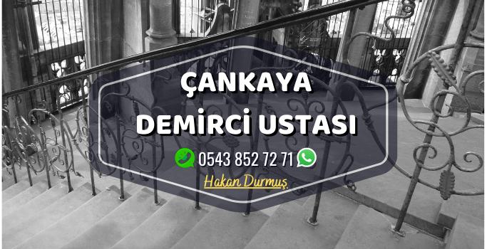 Ankara Çankaya Demirci Merdiven Demiri - Ferforje Demir - Balkon Demiri - Bahçe Demiri