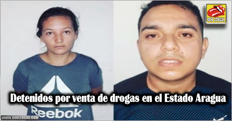 Detenidos por venta de drogas en el Estado Aragua