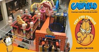 Férias 2019 Atividades Shopping Metrô Tatuapé - Parque Garfield