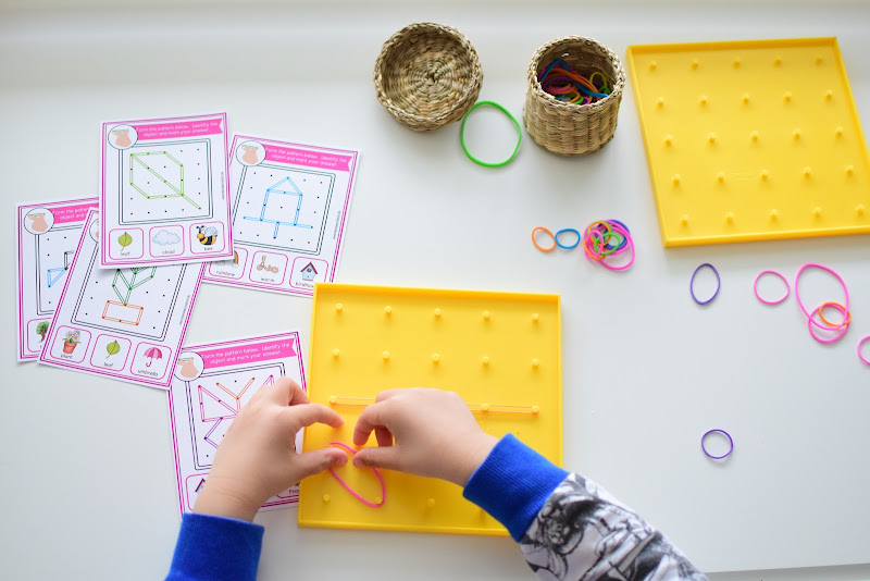 Spring Themed Fine Motor Skills and STEM Activities
