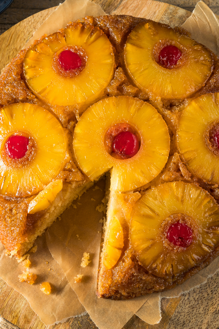 #Easy #Pineapple #Cake #Recipe. Pineapple cake is one of the tastiest desserts that can be prepared. Many people prefer to eat pineapple tasty fruit, so they may want to prepare ornaments using it #graduationcake #cakerecipes #cakesrecipes #cake #cakes #recipes