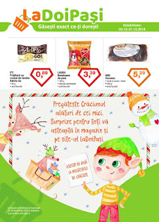 CATALOG LA DOI PASI Decembrie 2018 cozonac de craciun