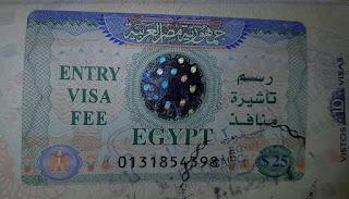 Visto para o Egito: emitido no aeroporto do Cairo
