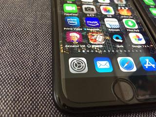 iPhoneSE ガラスフィルムの浮き