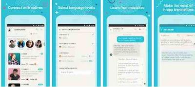 Aplikasi Tandem Language Exhange: Speak & languages