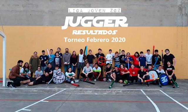 JUGGER: Resultados 1º Torneo de Jugger de la Liga Joven ZGZ Temp 19-20