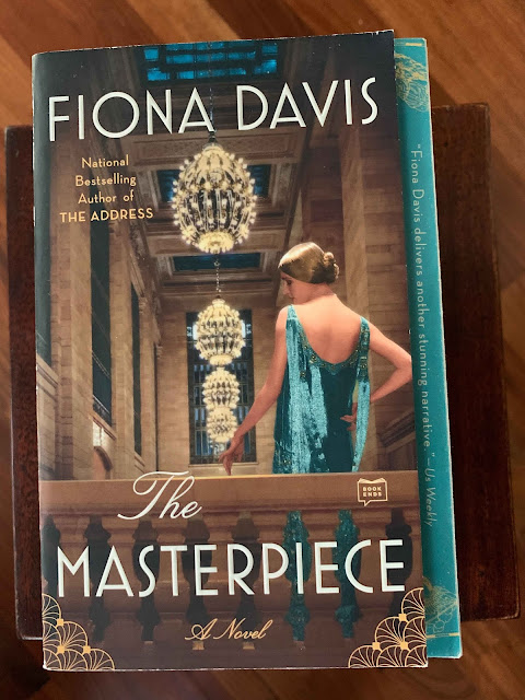 Book cover The Masterpiece by Fiona Davis