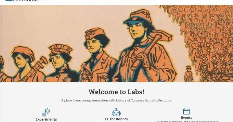Library of Congress Launches labs.loc.gov