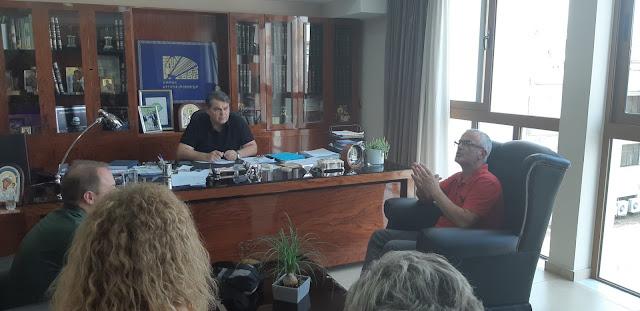 Σύσκεψη του Εμπορικού Συλλόγου Άργους με τον Δήμαρχο Δημήτρη Καμπόσο