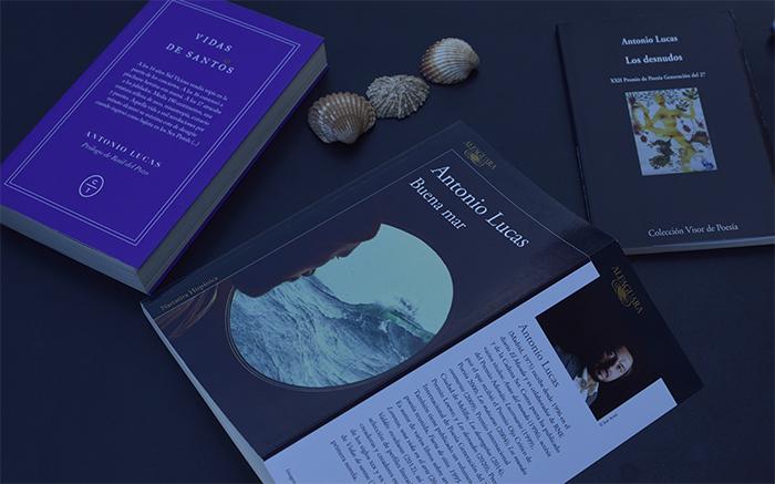 Tres libros de Antonio Lucas