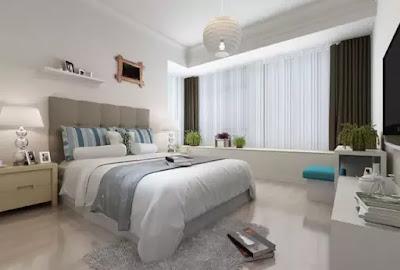 淺色系木紋 潔淨有質感     米白、灰白、奶白等色彩較淺的木紋磚,最適合簡約雅致的臥室空間。色彩雖淺,效果卻不寡淡。