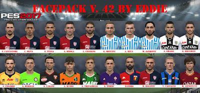 PES 2017 Facepack v42 by Eddie Facemaker