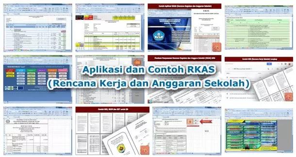 Aplikasi dan Contoh RKAS (Rencana Kegiatan dan Anggaran Sekolah)
