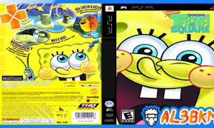 تحميل لعبة SpongeBob's Truth or Square psp iso مضغوطة لمحاكي ppsspp