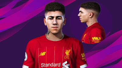 PES 2020 Faces Firmino by Rachmad ABs