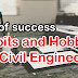 Good Habits and Hobbies for a Civil Engineer