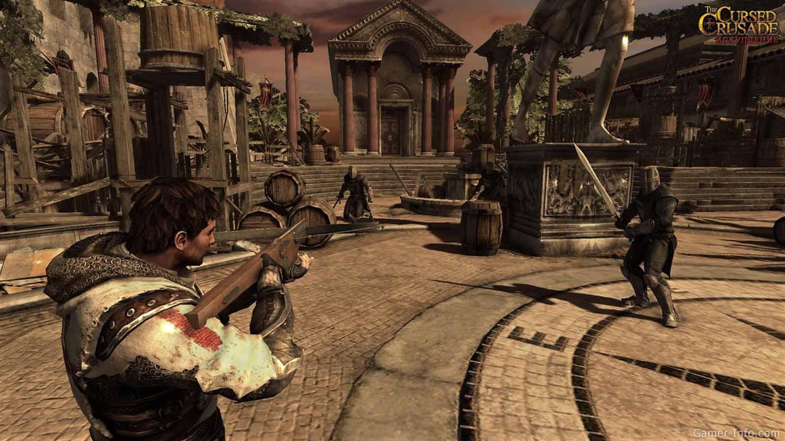 تحميل لعبة The Cursed Crusade مضغوطة برابط واحد مباشر + تورنت كاملة مجانا