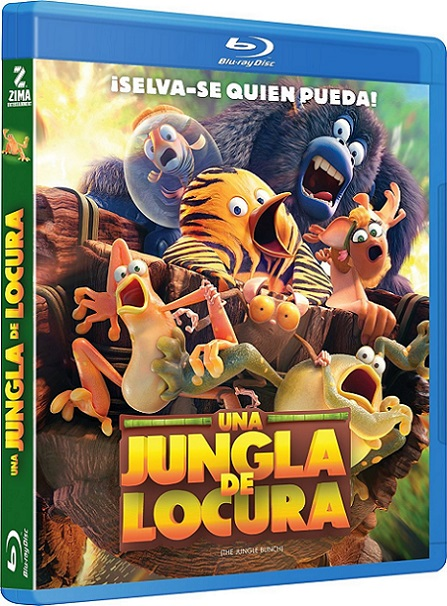 Les As de la Jungle/The Jungle Bunch (Una Jungla de Locura) (2017) 720p y 1080p BDRip mkv Dual Audio AC3 5.1 ch
