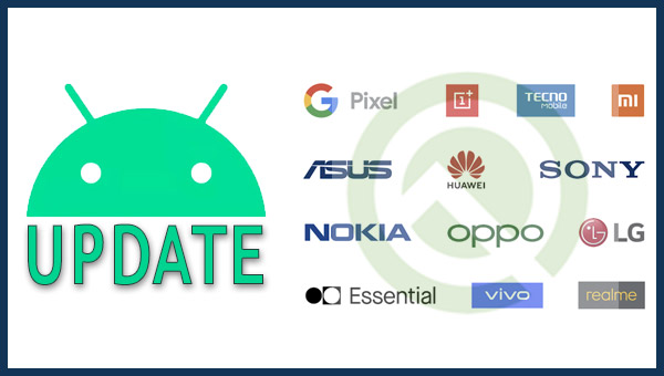 brands update android 10