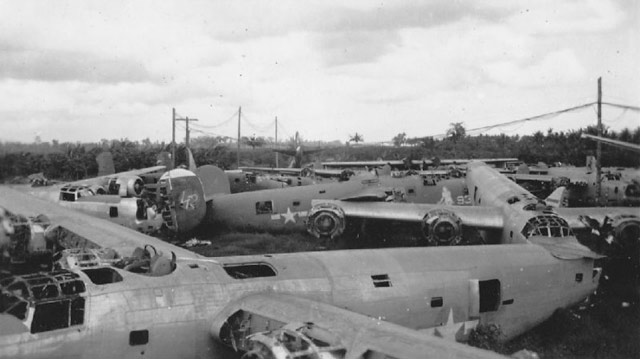 B-24 bombers being scrapped worldwartwo.filminspector.com