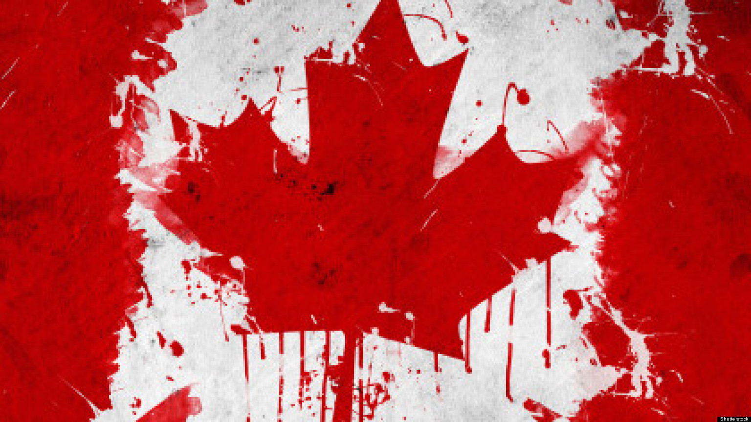 Snippits and snappits oh canada the suicide mission of the trudeau government - Canada flag image ...