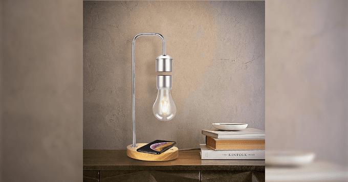 Levitating Light Bulb