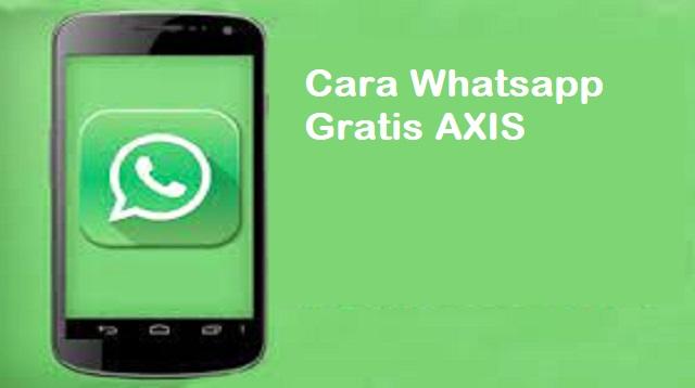 Cara WA Gratis AXIS