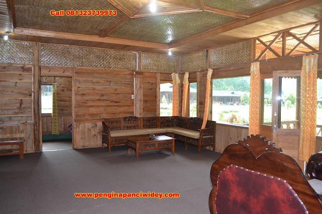 Berwisata dan menginap di cottage kawah putih dari kediri