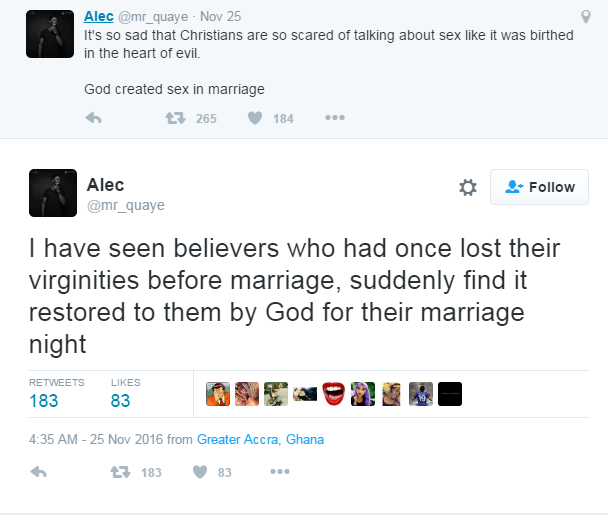 Guy Rants on Twitter How God Restored a Woman\'s Virginity on Her ...