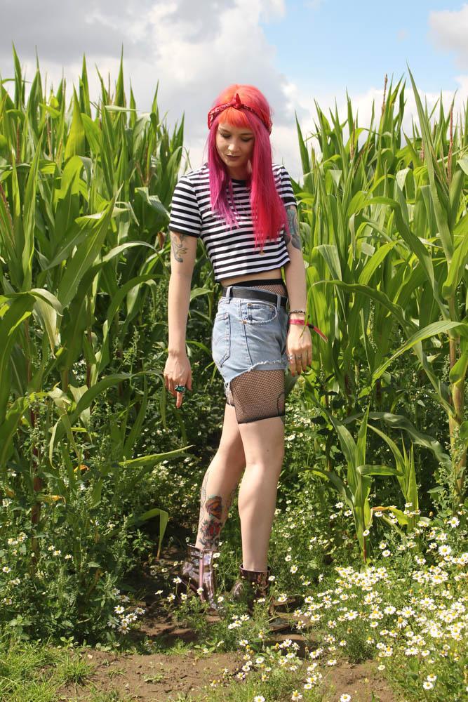 Alternative Style Blogger Styles Ego Metallic Boots