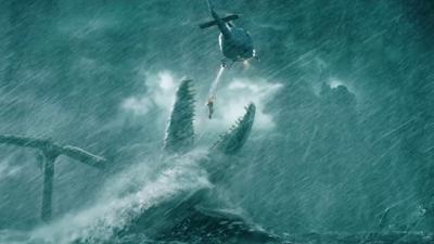 Mosasaurus en Jurassic World El reino caído