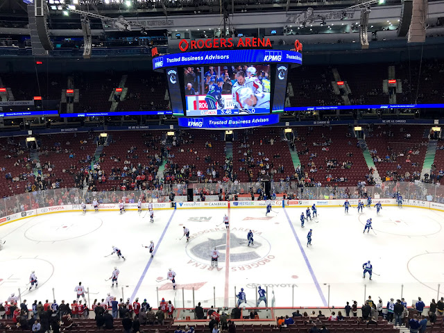 Washington Capitals at Rogers Arena