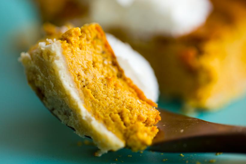 cheesecake Vegan Pumpkin Pie