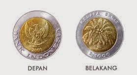 Metamorfosis Uang 1000 Rupiah