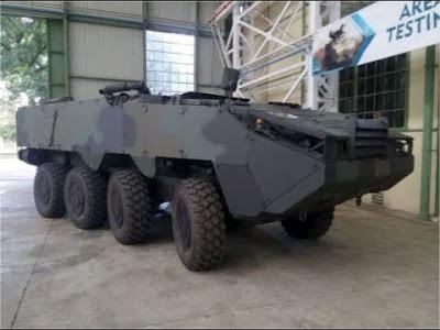 armada, thailand, panser 8x8,