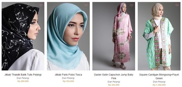 Beberapa Jenis Hijab Berkualitas dengan Harga Terjangkau untuk Lebaran