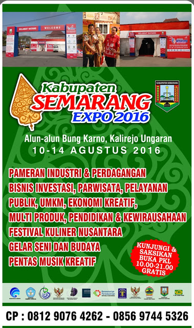 Kabupaten Semarang Expo 2016 Kasmex 2016