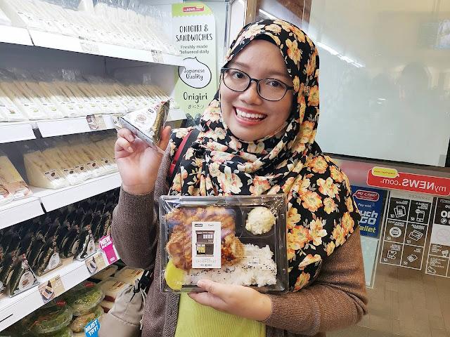 Promosi RM1 Untuk Bento Dan Onigiri Di myNEWS, Maru Bakes