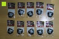 Tüte vorne: German Trendseller® - 12 x Piraten Augenklappen Pirat ★ NEU ★ ┃ Schatzsuche ┃ Kindergeburtstags ┃ Mitgebsel ┃ 12 Stück