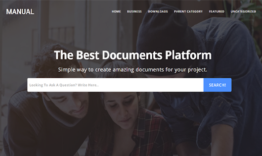 Manual - Online Docs Responsive Blogger Template | Templateism